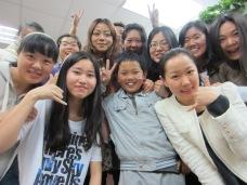 Class at Xinzhongguan in Beijing
